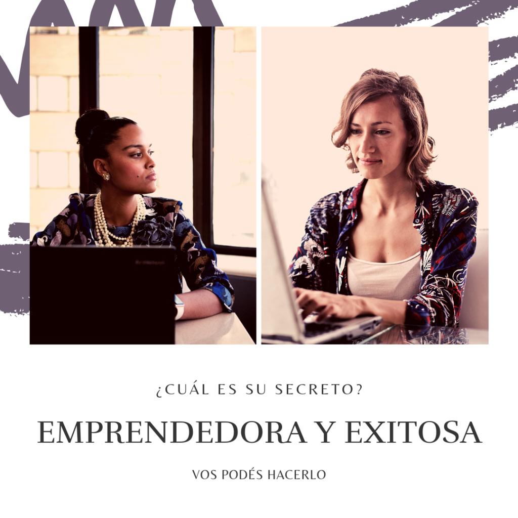 mujer emprendedora exitosa
